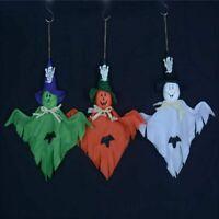 Haunted Halloween Hanging Ghost Spooks Party Decoration Indoor Outdoor (3packs)