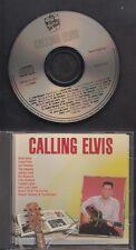 CALLING ELVIS 1992 CD Johnny Cash Carl Perkins Del Shannon Jerry Lee Lewis