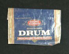 DOUWE EGBERTS DRUM Cigarette Tobacco EMPTY Vintage 50g Net Weight Pouch RARE