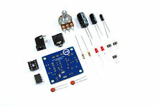 MINI amplificatore audio DIY KIT LM386 3,5 mm 12V unsoldered flusso Workshop