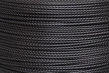 1m Erdmann funda cable Bowden 4,5mm para cable de cambio Flex ACERO óPTICA NEGRO