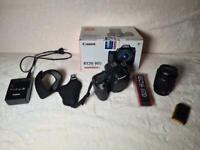 Canon EOS 80D 24.2MP Digitalkamera - Schwarz (Kit mit EF-S 18-55mm Objektiv)