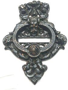 Cast Iron Gargoyle Door Knocker 1 Antiqued Bronze Look Finish H-93