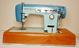 POWERFUL VINTAGE RETRO SEMI INDUSTRIAL BROTHER ELECTRIC SEWING MACHINE