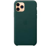 iPhone 11 Pro 5,8″ Apple Genuine Original Leather Case Cover - Forest Green