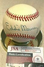 EDDIE MURRAY Signed Major League Baseball JSA~~Orioles~~Dodgers~~Indians~~HOF!!