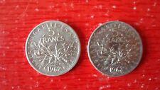 PIECE 5 FRANC ARGENT 1962 1963
