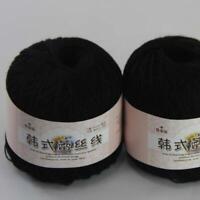 AIP Thread No.8 Cotton Crochet Yarn Craft Tatting Hand Knit Shawl Lace 50grX2 11