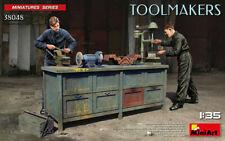 MiniArt Toolmakers Werkbank Diorama 1:35 Bausatz Model Kit 38048