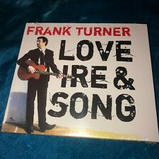 NOS 2008 FRANK TURNER LOVE IRE & SONG UK CD STILL SEALED FOLK COUNRTY PUNK