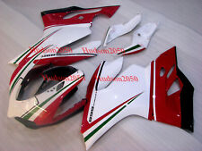Fairing Set For Ducati 899 1199 Panigale 2012-2014 Kit #09 White Green Black