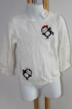 Gymboree Holiday Penguin Chalet Baby Girls Size 3T Ice Skating Top Shirt NWT