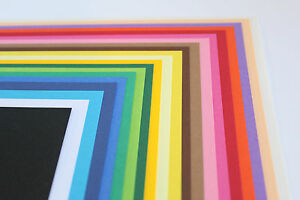 'CLAIREFONTAINE MAYA' A4 OR A3 270gsm SMOOTH COLOURED CARD IN 30 POPULAR COLOURS