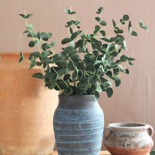 Artificial Eucalyptus Leave Plant Stem Branches Leaves Living Room Decor Classic