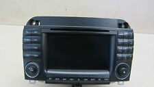 2003 W220 MERCEDES S500 S430 CL500 RADIO GPS NAVIGATION HEAD UNIT CD PLAYER 1215