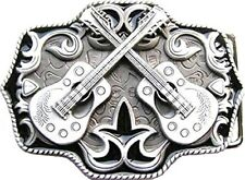 Buckle western country music, guitare, line dance, boucle de ceinture