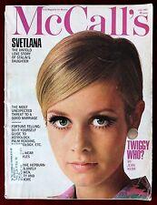 McCall's Magazine ~ July 1967 ~ Twiggy Katharine Hepburn Otto Storch