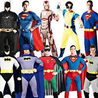 Superhero Mens Fancy Dress Marvel Comic Book Character Halloween Adults Costume