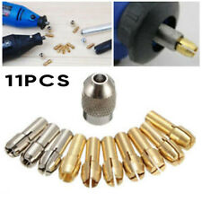 10 Pcs/set Collet Nuts Kit Quick Change Tool Part For Power Rotary Accessories