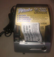 Used Brother P Touch Ql 500 Label Printer