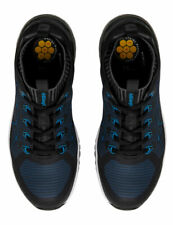 King Gee KingGee Vapour Black Blue Safety Shoes Lace Up  K26530