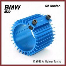 BMW M20 Oil Filter Cooler/Heat Sink Cover (Blue)