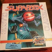 Retro/1990's PC DOS 3.5 FLOPPY Big Box game. SUPAPLEX **VGC**