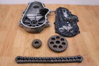 2009 POLARIS RMK 800 DRAGON Chain Case With Cover & Sprockets