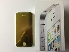 Customized Gold Plated IPhone 4S 64GB Factory Unlocked New!!!!