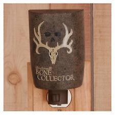 Bone Collector Night Light Resin Brown Michael Waddell Deer Skull Antler Logo