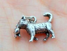 Sterling Silver Mother Cat Carrying A Kitten Charm - 3.3 Grams