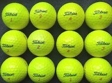20 Titleist trusoft Giallo Palline Da Golf Perla/un livello