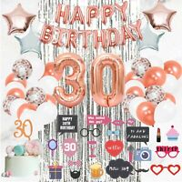 30th Birthday Decorations Supplies by Serene Selection, Happy Birthday!!!!