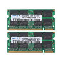 4GB (2x2GB) DDR2 667MHz PC2-5300 200Pin For Samsung Laptop Memory SODIMM RAM