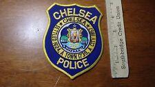 CHELSEA MASSACHUSETTS POLICE DEPARTMENT  OBSOLETE SHOULDER PATCH  BX 13 #8