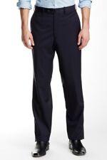 JB Britches x Nordstrom Torino Flat Front Wool Trousers dark blue 38x30 nwt