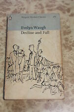Decline & Fall by Evelyn Waugh 60s Penguin paperback book
