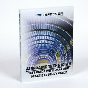 Jeppesen AMT Airframe Test Guide Textbook