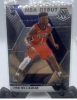 Zion Williamson 2019-20 Mosaic Rookie Card Base NBA Debut #269 Pelicans RC