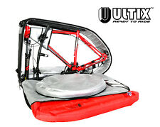 ULTIX PADDED ROAD MOUNTAIN BIKE TRAVEL BAG CYCLE LUGGAGE BOX CARRY CASE