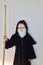 Hood Long Cape Cloak Von Lancelot Medieval Father Christmas Child 4-5 Hat Costum