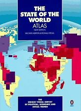 The State of the World Atlas: Unique Visual Survey Global polit econ Social T...