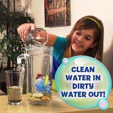 Fish Tank Aquarium Itself Cleaning Betta Turns Water Fresh Duty Pushes Out Decor