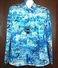 Barabas Men's Bright Blue Plaids Cotton Shirt Size XL NEW