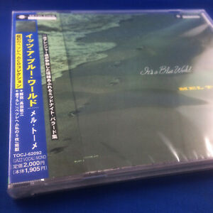MEL TORME: It's A Blue World (EXTREMELY RARE 2001 JAPANESE PROMO CD TOCJ-62092)