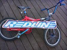 Old school bmx Redline STU bar decal