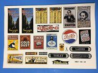 L G B Pola G Scale Sticker Sheet No. 0907-90-01 Model Train Accessory Decal Sign