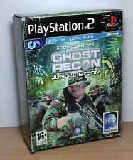 GHOST RECON JUNGLE STORM CON CUFFIE LIMITED - PS2 - PlayStation 2 - PAL - Usato