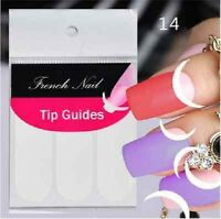 Nail Art Sticker French Tip Manicure Guides Half Moon Stickers (DF1)