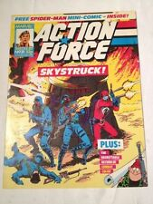 Action Force # 31 Spiderman Story